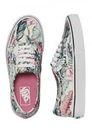 vans shoes for girls. order vans - authentic tropical multi/true white girl shoes by for at the impericon uk online shop in great quality. girls c
