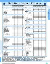 Wedding Budget Excelsheet Sheet Download South Africa Planning