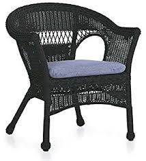 Patio Black Rattan Wicker Patio Set For Minimalist Patio DecorBlack Outdoor Wicker Furniture
