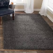 rug 5x8. safavieh california cozy plush dark grey/ charcoal shag rug 5x8 a