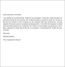 employment re mendation letter sample 3