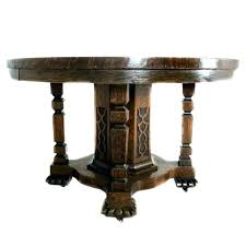 round oak extending dining table table pedestal for round oak extending dining table pedestal single