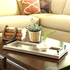 Decorating An Ottoman With Tray Round Ottoman Tray Oversized Tray For Ottoman Extra Large Round 97