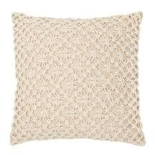 highland dunes lace cotton throw pillow