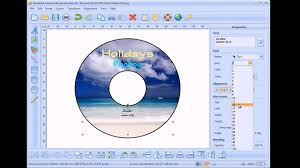 How To Make A Cd Label Youtube