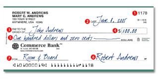 how to write a strong personal writing a check to cash third party check transactions instead of depositing the check and then writing a new one some banks are reluctant to