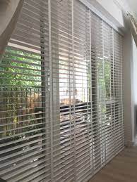 wood venetian blinds with existing