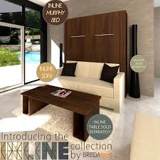 InLine Murphy Bed and Sofa-Head