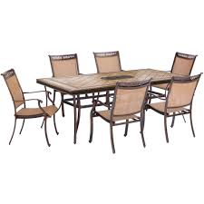 Rust Resistant Patio Dining Sets Patio Dining Furniture The