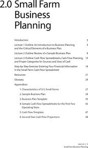 Download Small Farm Business Plan Template For Free Tidytemplates