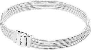 Серебряный <b>браслет</b> для шармов <b>PANDORA 597943</b> — купить в ...