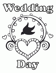 Free Printable Wedding Coloring Pages For Kids Coloring Home