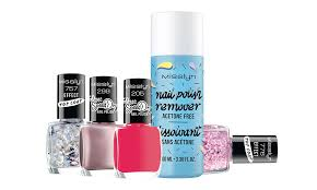 your nails should fit your outfit but you re late again then get the new 60 sec sd dry nail polishes from misslyn with which you can perfect