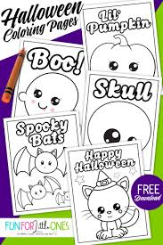 These free, printable halloween coloring pages provide hours of fun for kids during the holiday season. Free Halloween Coloring Pages For Kids Fun For Little Ones