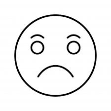 悲しくて涙が流れて 悲しい 絵文字 表情バッグ画像素材の無料