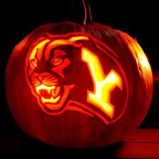 Football Pumpkin Carving Patterns Magnificent Inspiration Ideas