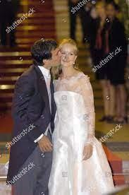 Groom Carlo Ponti Jnr bride Andrea Meszaros Editorial Stock Photo - Stock  Image
