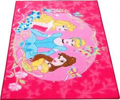 pink disney princess area rug