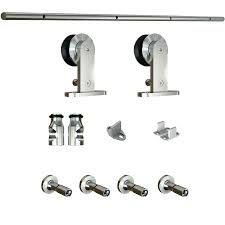 Decorating door rail hardware images : Barn Door Rail Hardware Bypass Sliding Doors – Asusparapc