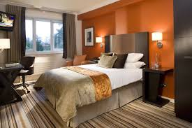 warm bedroom color schemes. Wonderful Warm Iu0027m Not A Fan Of Orange But I Really Like The Look And Feel This Feels  Warm Yes Also Calm Warm Bedroom Paint Colors Ideas Photo For Bedroom Color Schemes L