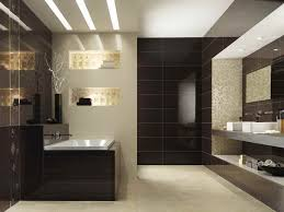 Modern Bathroom Colors Design By AllstateLogHomes Modern Bathroom Colors