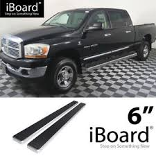 Details about Running Board Side Step 6in Silver Fit Dodge Ram 1500/2500/3500 Mega Cab 06-08