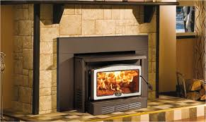used wood burning fireplace inserts for osburn 2400 ob02401 wood fireplace insert with black overlay