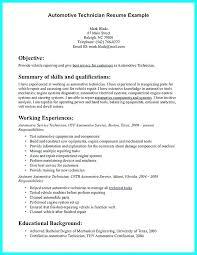 Auto Mechanic Resume Templates Auto Mechanic Resume Template Reluctantfloridian Com