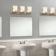 led bathroom lighting ideas. Light Washroom Fixture 3 Brushed Nickel Vanity Lights Over In Bathroom Mirror And Ideas 8 Led Lighting