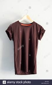 Folding Template For Clothes Tshirt On Hanger Stock Photos Tshirt On Hanger Stock