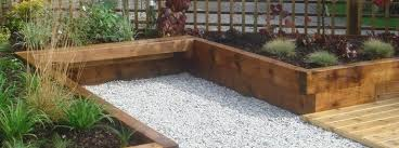 garden design with sleepers. tranquil earth building gardens with railway sleepers garden design i
