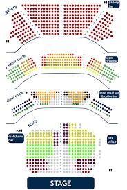 opera house seating plan blackpool sea