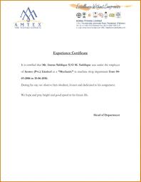 Example Certificate Experience Certificate Sample For Nurses Best