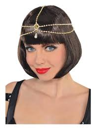 20s Hair Style flapper 20s style hair crown 20s fancy dress play & party 1718 by wearticles.com