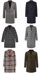 the best check overcoats for men