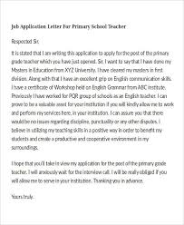 Printable Application For Mployment New 48 Job Application Letters In PDF Free Premium Templates