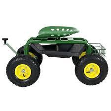 garden seat on wheels. Rolling Garden Seats Best Choice Cart Work Seat With Tool Tray Heavy Duty Gardening On Wheels N