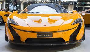 used mclaren p 1 super car 2016