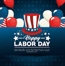 labor day theme stars of labor day in usa theme vector illustration royalty free