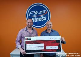 24 hour gym chain plus fitness has raised over 140 000 for beyond blue during its national lift yourself up caign