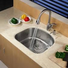 d shaped kitchen sink mats handles sinks 2018 and awesome kraus kbu