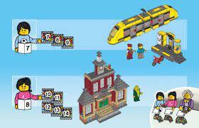 LEGO 60271 Main Square Instructions, City