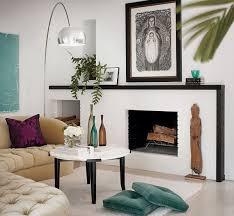 modern fireplace mantel decorations