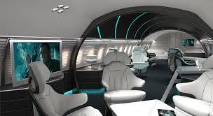 Jet Interior Design Concept