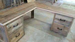 custom wood office furniture. Reclaimed Barn Wood Corner Desk Free Shipping By . Traditional Style Custom Office Furniture L