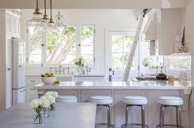 white cottage kitchens. White Wainscoted Kitchen Peninsula Cottage Kitchens