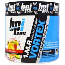 bpi sports 1 m r vortex pre powder fruit punch
