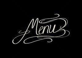 The Word Menu Word Menu Vector Image 1531240 Stockunlimited