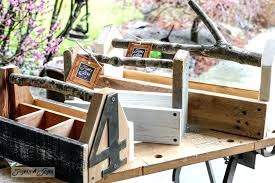 wood toolbox reclaimed wood toolbox kits with branch handles created by simple wood toolbox plans