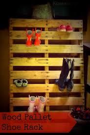 diy pallet shoe rack. DIY Wood Pallet Shoe Rack Diy
